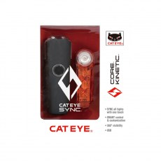 Cateye Sync Set Core & Kinetic Front & Rear