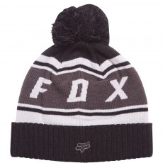 Fox Black Diamond Pom Beanie