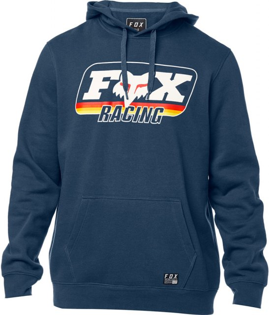 Fox Throwback Pull Over Fleece Navy
