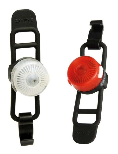 Cateye Loop 2 Front/Rear Light Set Rechargeable