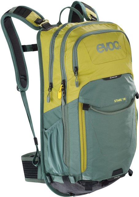 EVOC Stage 18L Performance Backpack Moss Green / Olive