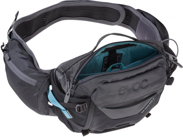 EVOC Hip Pack Pro Hydration Pack 3L Black / Carbon Grey