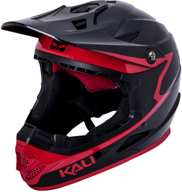 Kali Zoka Full Face Helmet Black / Red