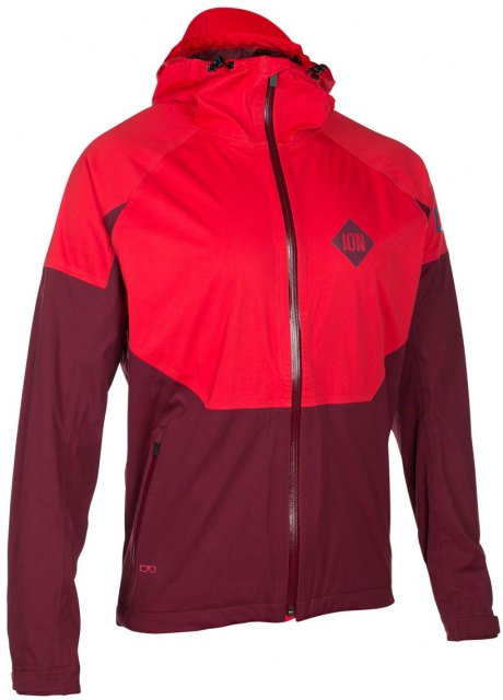 ION Shell_AMP Jacket Vario Blazing Red Front