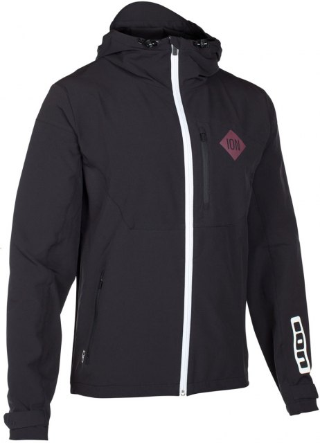 ION Soft Shell Jacket Carve Black Front