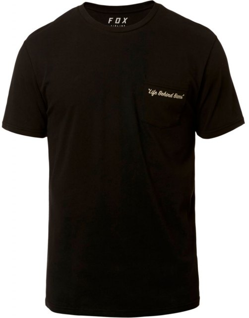 Fox Resin SS Airline Tee Black