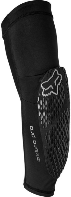 Fox Enduro Pro Elbow Pads Black Front