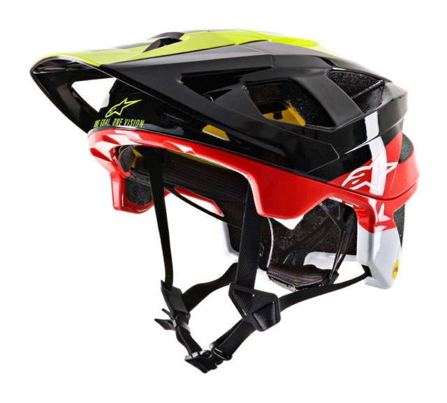 Alpinestars Vector Tech MIPS Helmet 2019 Black / Yellow / Red