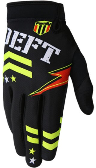 Deft Family Eqvlnt Badge Gloves Black