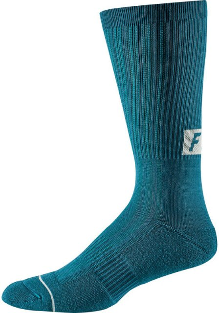 "Fox 8"" Trail Cushion Sock FA19 Maui Blue"