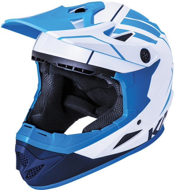Kali Zoka Youth Helmet 2020 White / Blue / Navy