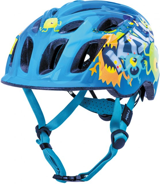 Kali Chakra Child Helmet - Monsters Blue