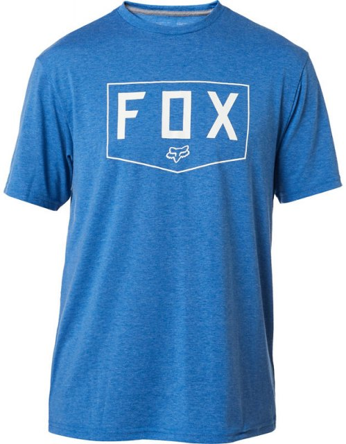 Fox Shield SS Tech Tee Heather Royal
