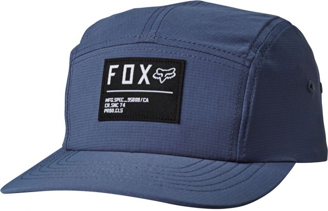 Fox Non Stop 5 Panel Hat Blue Steel