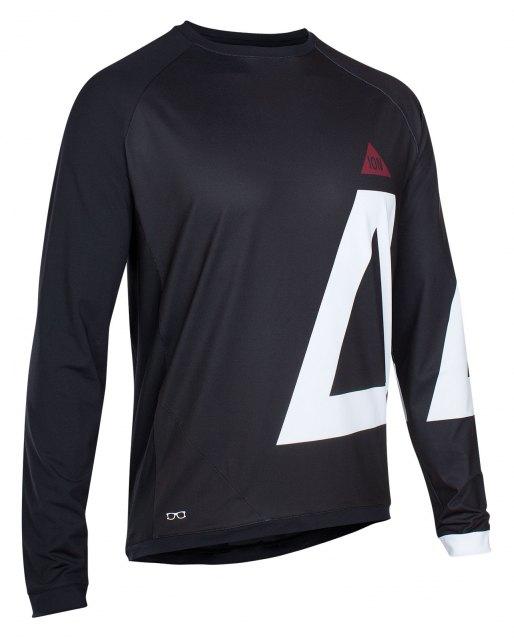 ION Traze_Amp LS Jersey Black Front