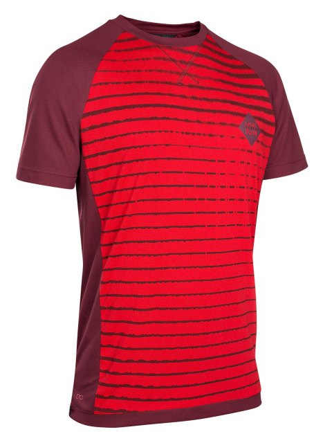 ION Scrub_AMP SS Tee Red Front