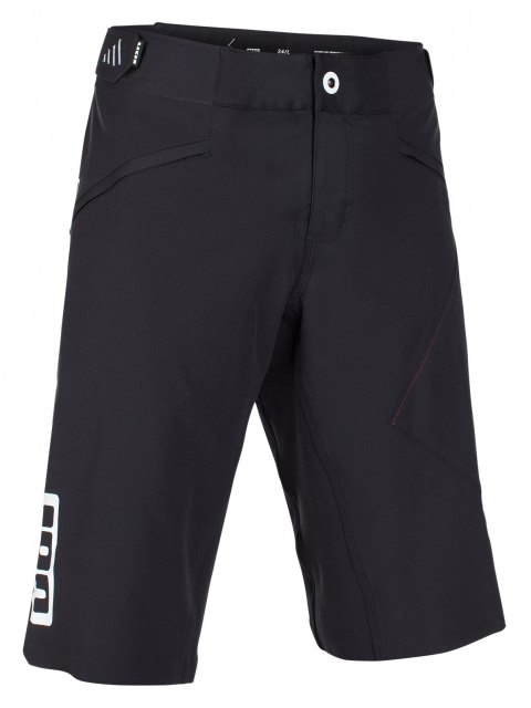 Ion Scrub_Amp Shorts Black front