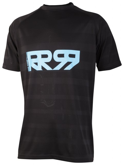 Royal Impact Short Sleeve Jersey Black/Electric Blue