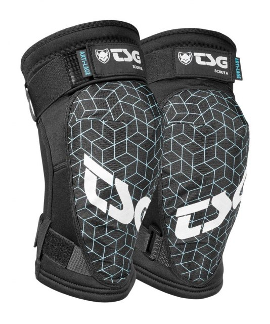 TSG Scout A Knee Pads Black