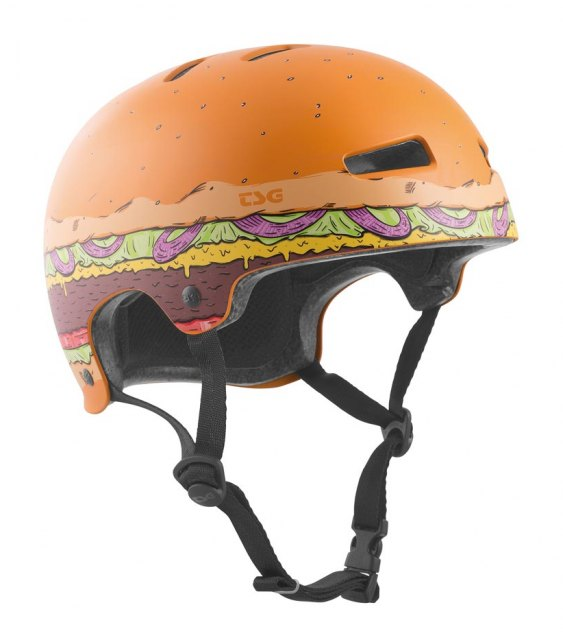 TSG Evolution Graphics Helmet Burger