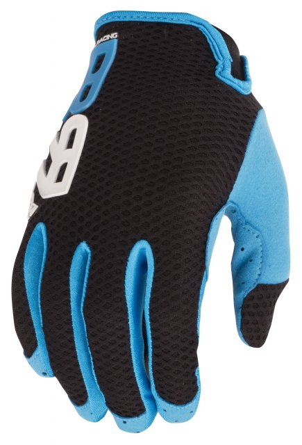 Royal Quantum Gloves Black/Electric Blue