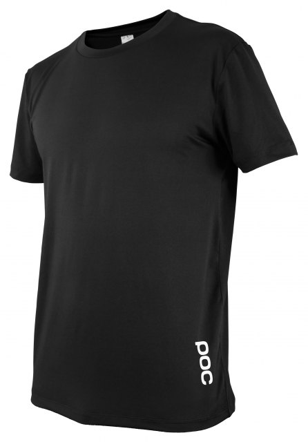 POC Resistance Enduro Light Tee Carbon Black