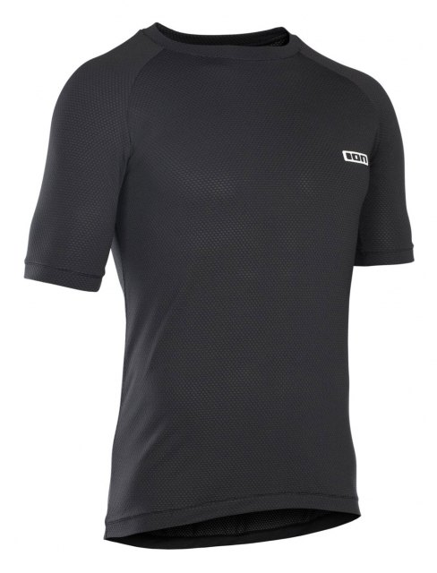 ION Base Tee SS Base Layer Black Front