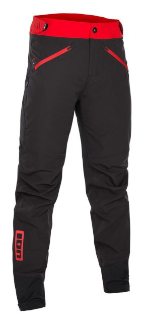 ION Softshell Pants Shelter Black/Red Front