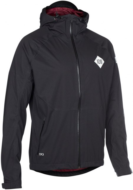 ION 3 Layer Jacket Shelter Black Front