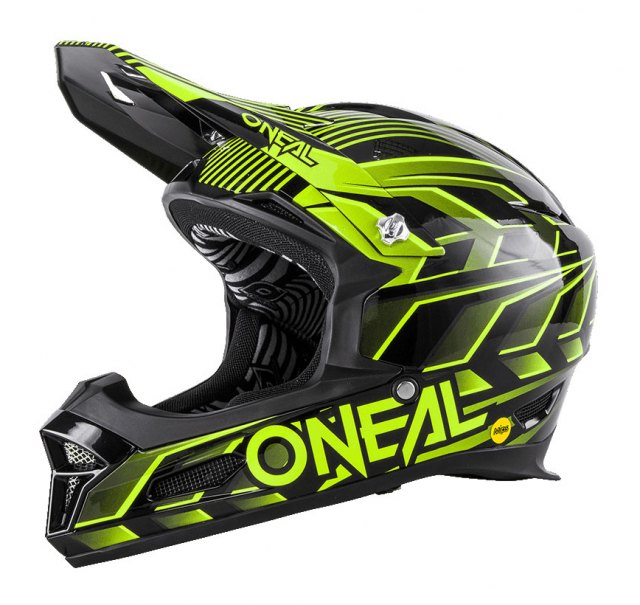O'Neal Fury RL MIPS Helmet Black/Yellow