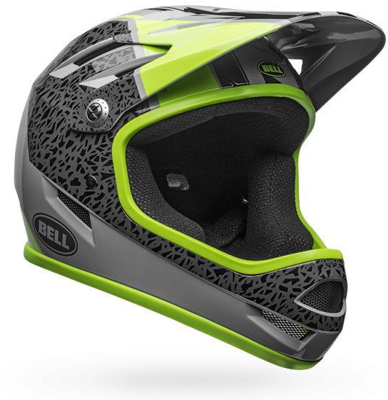 Bell Sanction Helmet 2018 Smoke / Pear