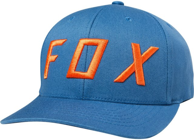 Fox Moth 110 Snapback Cap Blue