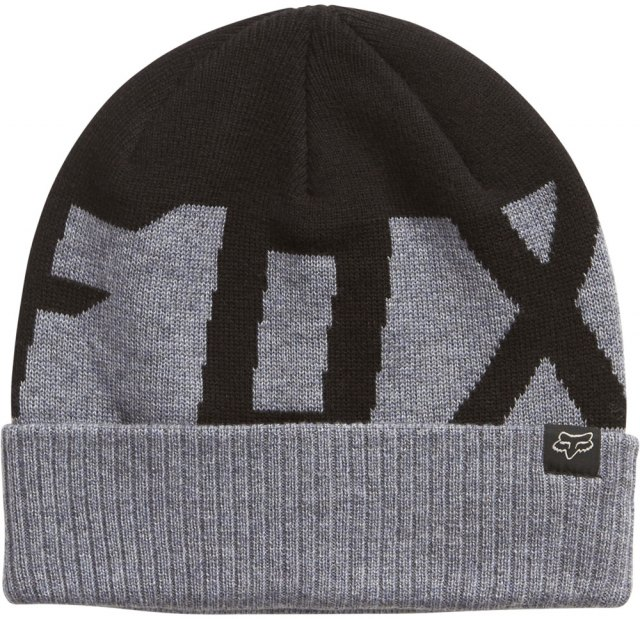 Fox Ridge Wool Beanie Black
