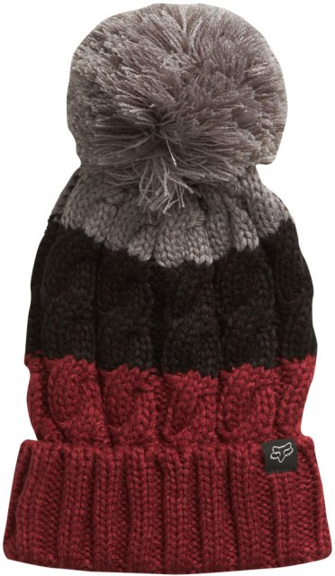 Fox Valence Beanie Dark Red