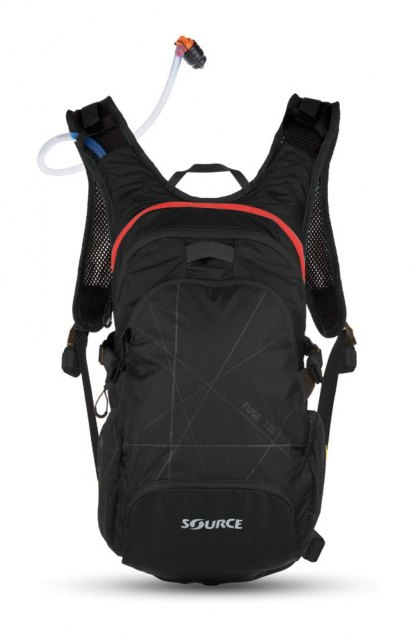Source Outdoor Fuse Hydration Pack Black/Red