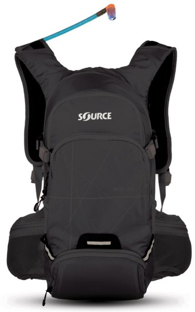 Source Outdoor Ride Hydration Pack Black