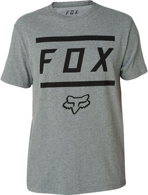 Fox Listless Airline SS Tee Heather Grey