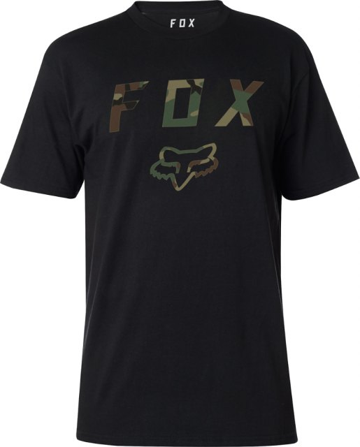 Fox Cyanide Squad SS Tech Tee Black Front