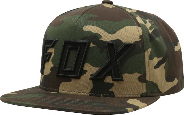 Fox Posessed Snapback Cap Camo