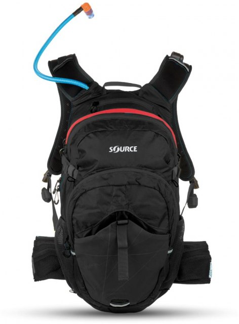 Source Outdoor Paragon Hydration Pack Black/Red