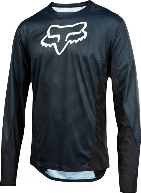 Fox Demo LS Jersey Camo Burn Black Front