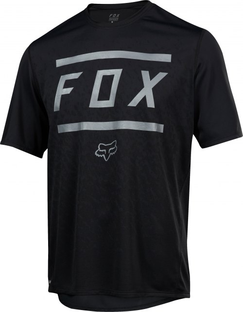 Fox Ranger SS Bars Jersey Black