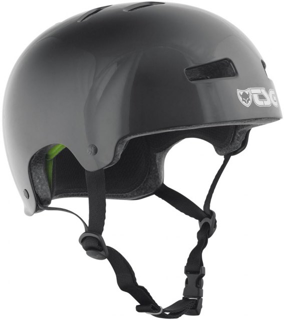 TSG Evolution Injected Helmet Black