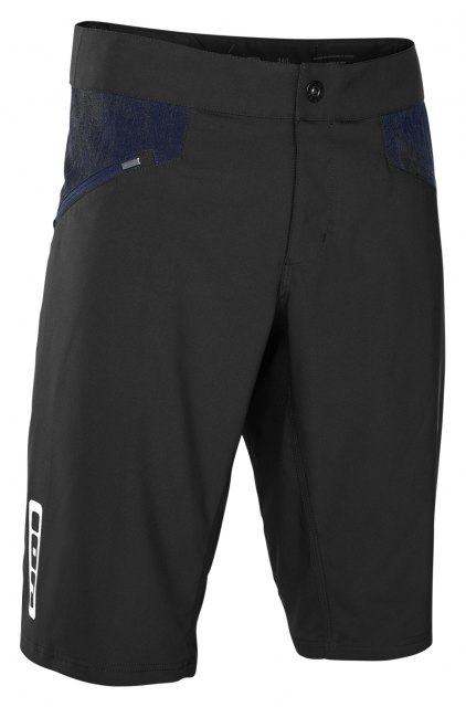 ION Scrub Shorts Black Front