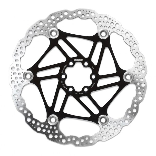 Hope Floating Disc Brake Rotor Black