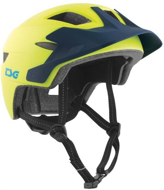 TSG Cadete Kids Helmet Yellow/Blue